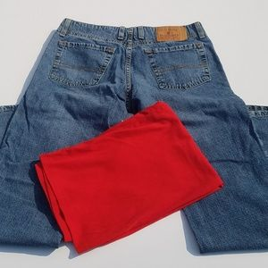 Lucky Dungaree Jeans Size 6/28